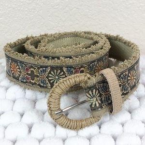 Accessories - Butterflies and flowers belt